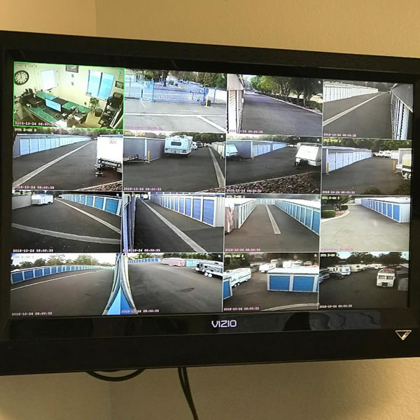 CCTV Security Monitoring System