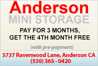 Anderson Mini Storage Coupon
